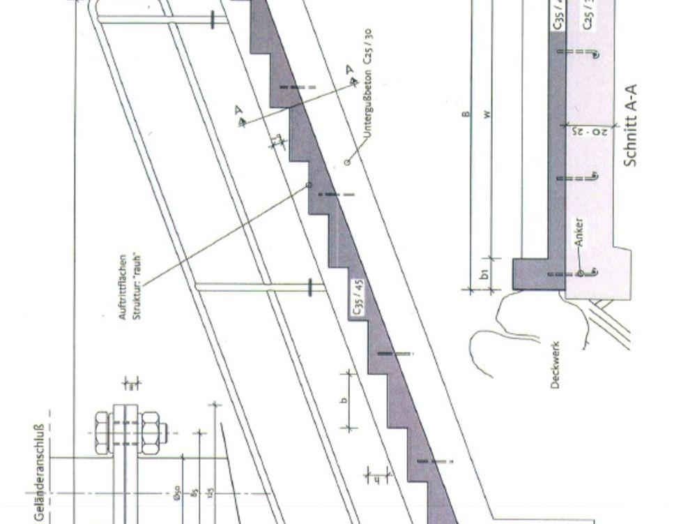 fertigteiltreppe treppen tiefbau system technik